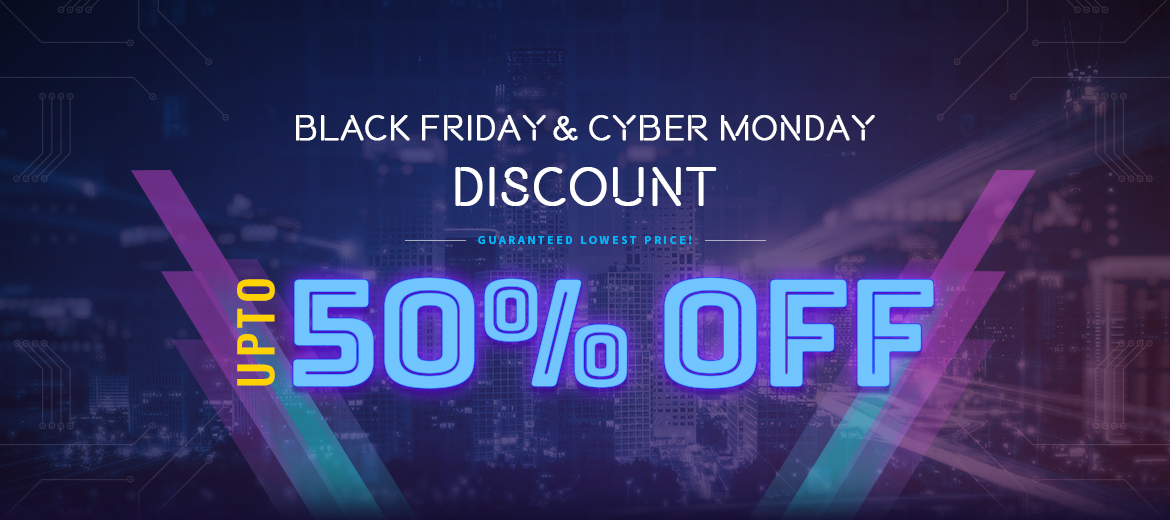 Clock is Ticking! Get Amazing Black Friday & Cyber Monday Hosting Deals at up to 50% OFF